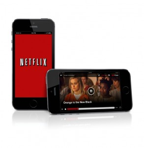 Netflix in de trein 4G