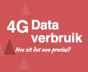 4G dataverbruik